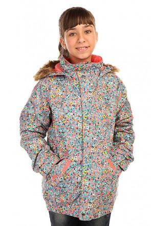 Куртка детская Burton Twist Bmr Jacket Sweetp Confetti Flrl, 1136413,  Burton, цвет розовый, синий