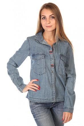 Рубашка женская Roxy Fair View Peacoat, 1129967,  Roxy, цвет синий