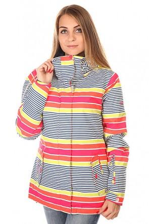 Куртка женская Roxy Jetty Jk J Snjt Sail Away Limeade, 1129997,  Roxy, цвет мультиколор