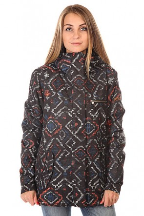 Куртка женская Roxy Jetty 3n1 Jk J Snjt Kilim, 1129998,  Roxy, цвет черный