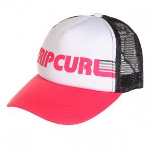 Бейсболка с сеткой женская Rip Curl Guliana Trucker Paradise Pink, 1159543,  Rip Curl, цвет белый, розовый, синий