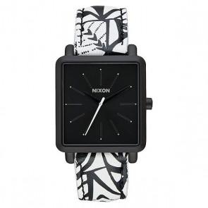 Кварцевые часы женские Nixon K Squared Black/Bleach, 1159618,  Nixon, цвет белый, черный