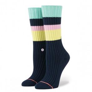 Носки средние женские Stance Basically Basic Navy, 1159653,  Stance, цвет желтый, розовый, синий