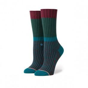 Носки средние женские Stance Ohio Mer, 1159668,  Stance, цвет бордовый, зеленый