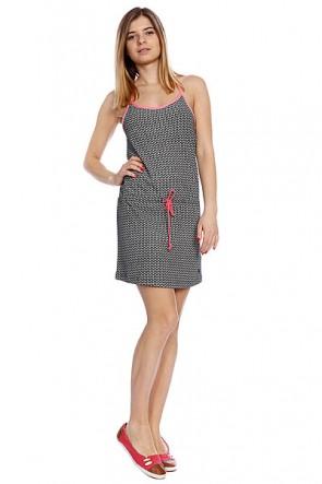 Платье женское Roxy Options True Black, 1082276,  Roxy, цвет белый, черный