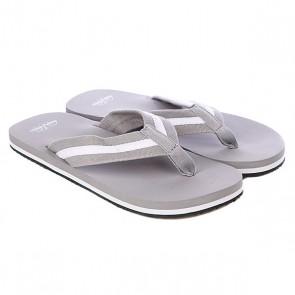 Шлепанцы Urban Classics Flip Flops Grey/White, 1059524,  Urban Classics, цвет серый
