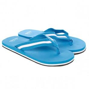 Шлепанцы Urban Classics Flip Flops Turquoise/White, 1059526,  Urban Classics, цвет голубой