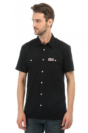 Рубашка DC Ben Davis Shirt Black, 1146503,  DC Shoes, цвет черный