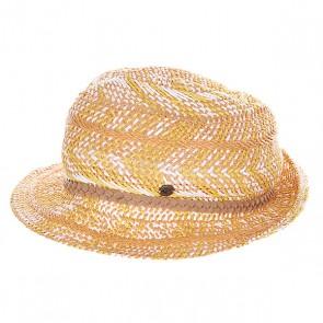 Шляпа женская Roxy Big Swell Hats Warm White, 1121053,  Roxy, цвет белый, желтый, коричневый