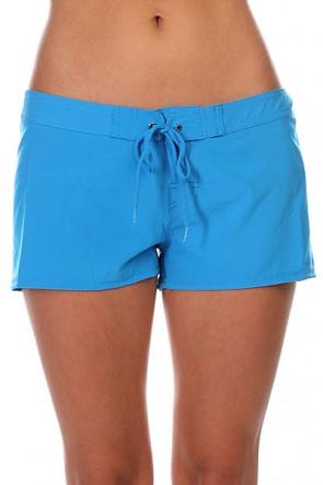Шорты пляжные женские Roxy Classic Blue Aster, 1121122,  Roxy, цвет голубой