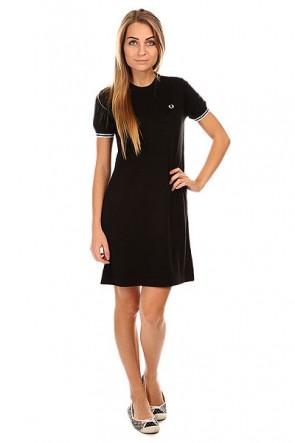 Платье женское Fred Perry Knitted Dress Black, 1133206,  Fred Perry, цвет черный