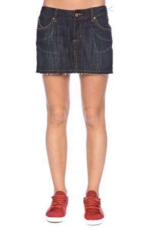 Юбка женская Ezekiel Harrison Mini Skirt Dskw, 1021083,  Ezekiel, цвет синий