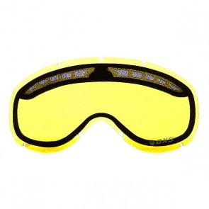 Линза для маски Dragon DXS Replace Lens Yellow, 1060187,  Dragon,