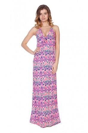 Платье женское Roxy Hyacinth Tropical Pink, 1086228,  Roxy, цвет оранжевый, розовый