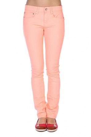 Джинсы узкие женские Roxy Suntrippers Colors M Cantalope, 1086291,  Roxy, цвет оранжевый