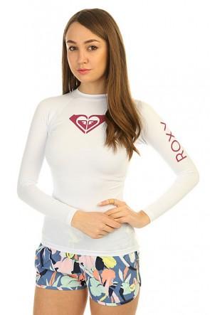Гидрофутболка женская Roxy Wholeheartls White, 1146578,  Roxy, цвет белый