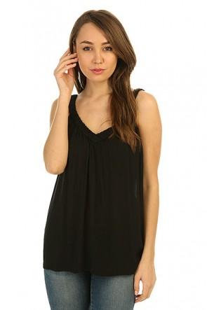 Топ женский Roxy Double True Black, 1146587,  Roxy, цвет черный