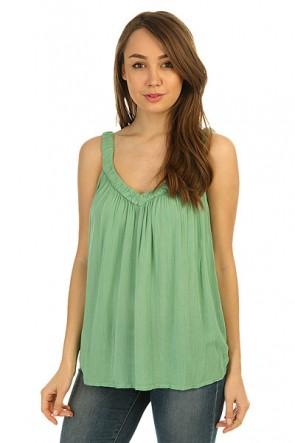 Топ женский Roxy Double Creme De Menthe, 1146588,  Roxy, цвет зеленый