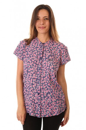 Блузка женская Billabong Pearl City Rose, 1153793,  Billabong, цвет розовый, синий