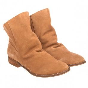 Сапоги демисезонные женские Roxy Leon J Boot Tan, 1157965,  Roxy, цвет коричневый