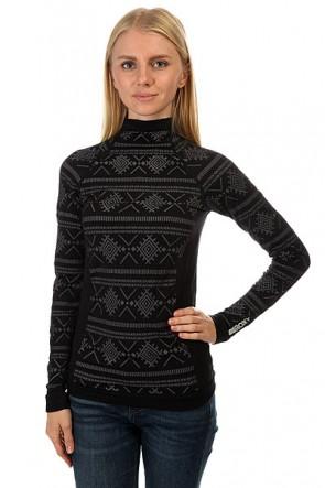 Лонгслив женский Roxy Passana True Black, 1158010,  Roxy, цвет серый, черный