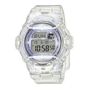 Электронные часы женский Casio Baby-g Bg-169r-7e, 1159749,  Casio, цвет белый