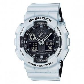 Электронные часы Casio G-shock Ga-100l-7a, 1159768,  Casio, цвет белый