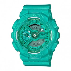 Электронные часы Casio G-shock Gma-s110vc-3a, 1159779,  Casio, цвет голубой, зеленый