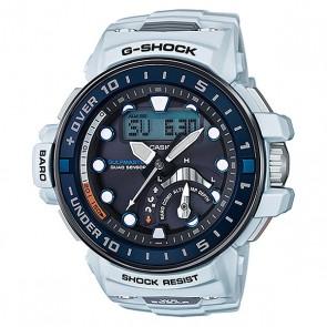 Электронные часы Casio G-shock Premium Gwn-q1000-7a, 1159789,  Casio, цвет белый, синий