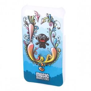 Чехол для Iphone Music Monsters Swirls, 1054368,  Music Monsters,