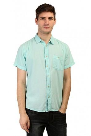 Рубашка Quiksilver Time Box Ss Wvtp Aruba Blue, 1141438,  Quiksilver, цвет голубой