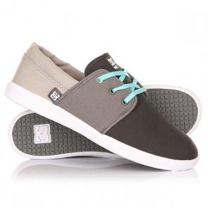 Кеды кроссовки низкие женские DC Haven Grey, 1146753,  DC Shoes, цвет серый