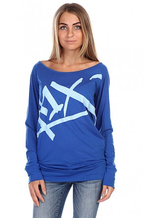 Лонгслив женский K1X Easy Tag Longsleeve Royal Blue, 1116777,  K1X, цвет синий