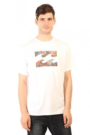 Футболка Billabong Team Wave White, 1151512,  Billabong, цвет белый