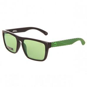 Очки детские Quiksilver Small Fry Black/Flash Green, 1151742,  Quiksilver, цвет зеленый, черный