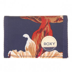 Кошелек женский Roxy Small J Wllt Castaway Floral Blue, 1156167,  Roxy, цвет синий