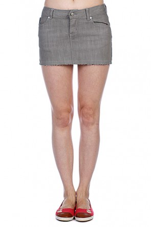 Юбка женская Ezekiel Harrison Mini Skirt Slate, 1049982,  Ezekiel, цвет серый