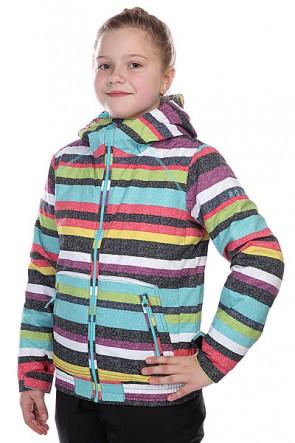 Куртка детская Roxy Valley Hoodie Girl Jk Anthracite, 1103277,  Roxy, цвет мультиколор