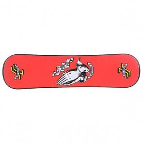Сноускейт Santa Cruz Pray For Me Black Plank, 1103296,  Santa Cruz, цвет красный, черный