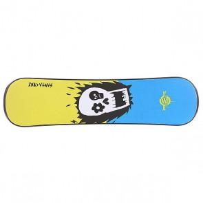 Сноускейт Santa Cruz Ozzy Wright Black Plank, 1103303,  Santa Cruz, цвет белый, голубой, черный