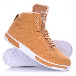 Кеды кроссовки утепленные K1X H1top Le Brown, 1136565,  K1X, цвет коричневый