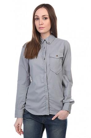 Рубашка женская Burton Wb Cora Flannel Heather Grey, 1109277,  Burton, цвет серый