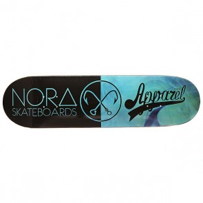 Дека для скейтборда для скейтборда Nord x Mono Deep Blue 32.5 x 8.5 (21.6 см), 1151763,  Nord, цвет голубой, черный