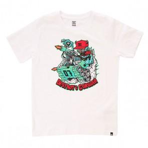 Футболка детская DC Mr Tank Snow White, 1156180,  DC Shoes, цвет белый