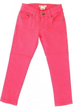 Джинсы прямые детские Roxy Yellow Pant Paradise Pink, 1156198,  Roxy, цвет розовый