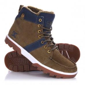 Ботинки зимние DC Woodland Military, 1130706,  DC Shoes, цвет зеленый, синий