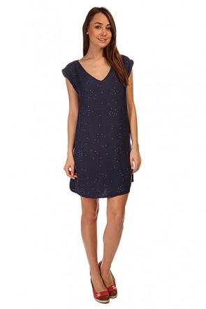 Платье женское Roxy Foot Random Dots Combo Ec, 1144829,  Roxy, цвет синий