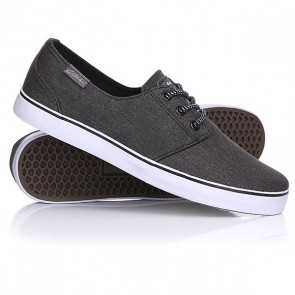 Кеды кроссовки низкие Circa Crip Black/Charcoal, 1115017,  Circa, цвет серый
