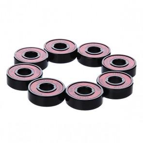 Подшипники для скейтборда Sk8mafia Abec 5 Bearings Red, 1121672,  Sk8mafia, цвет красный, черный