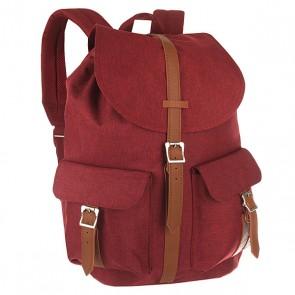 Рюкзак городской Herschel Dawson Winetasting Crosshatch/Tan, 1156365,  Herschel, цвет бордовый